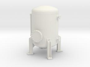 Autoclave Pressure Tank 1/72 in White Natural Versatile Plastic