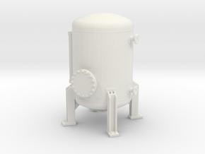 Autoclave Pressure Tank 1/64 in White Natural Versatile Plastic