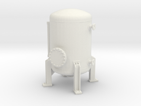 Autoclave Pressure Tank 1/43 in White Natural Versatile Plastic