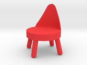 Starfish chair in Red Processed Versatile Plastic