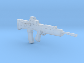 L85A2 assault rifle 1:6 in Smooth Fine Detail Plastic