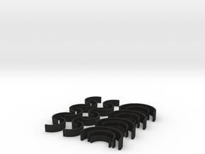 Shackles set for Bandai's GX-07 Mazinger in Black Acrylic
