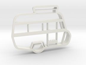caravan cookie in White Natural Versatile Plastic