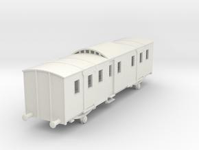 o-76-sncf-night-ferry-passenger-brake-van in White Natural Versatile Plastic