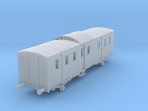o-160fs-sncf-night-ferry-passenger-brake-van in Smooth Fine Detail Plastic