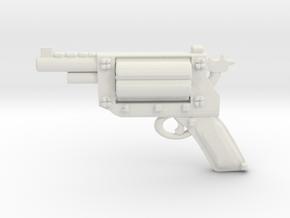 Revolver v2b in White Natural Versatile Plastic
