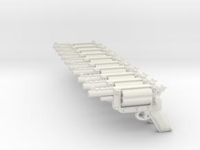 Revolverv SET 2b in White Natural Versatile Plastic