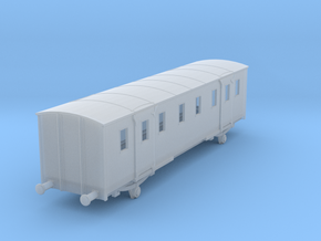 o-160fs-sncf-night-ferry-passenger-baggage-van in Smooth Fine Detail Plastic