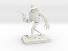TheGunfighter (Medium) in White Natural Versatile Plastic