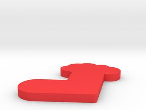 chirstmas in Red Processed Versatile Plastic