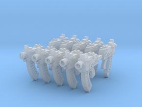 AK pattern Bolt Pistols x10 in Smooth Fine Detail Plastic
