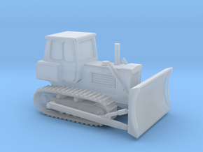 Z Scale Bulldozer in Smooth Fine Detail Plastic