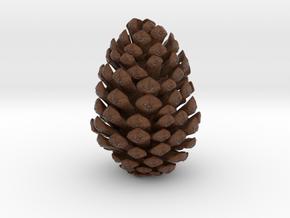 Pine Cone in Natural Full Color Sandstone