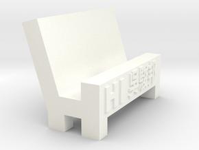 phone stand in White Processed Versatile Plastic