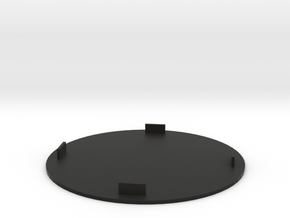 table mat  in Black Natural Versatile Plastic