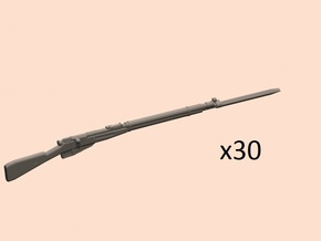 1/35 Mosin 1891/30 with bayonet (read description) in Smoothest Fine Detail Plastic