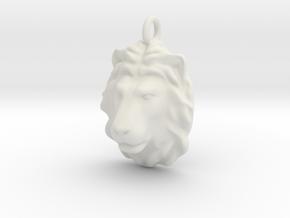 Lion head 2011270134 in White Natural Versatile Plastic