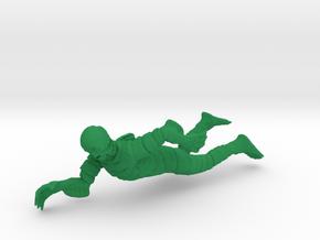 Monster Series - Creature Black Lagoon Swim in Green Processed Versatile Plastic