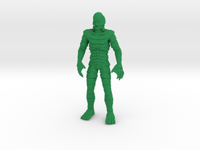 Monster Series - Creature Black Lagoon in Green Processed Versatile Plastic