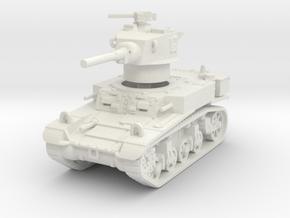 M3A1 Stuart late 1/100 in White Natural Versatile Plastic