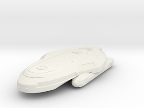 Federation+NS+Type+Shuttle in White Natural Versatile Plastic