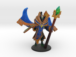 Rubick Arcana with Aghanim's Scepter in Natural Full Color Sandstone