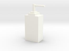 客製化瓶子 ( 長方形 ) in White Processed Versatile Plastic