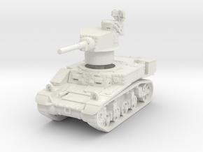 M3 Stuart mid UK 1/87 in White Natural Versatile Plastic