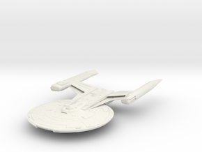 Shepard Class Refit V3 in White Natural Versatile Plastic