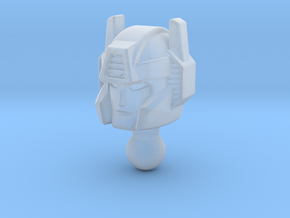 Pointblank head for Siege Sideswipe in Smooth Fine Detail Plastic