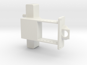 Custom Front wieght bracket for pulling tractor in White Natural Versatile Plastic