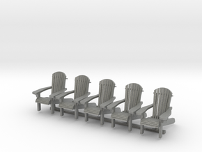Chair 14. 1:35 Scale  in Gray PA12