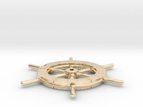 Higgins wheel 24th scale in 14K Yellow Gold