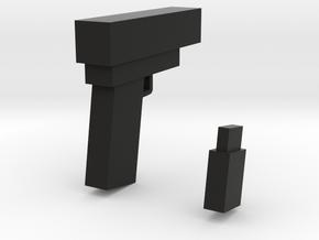 GUN a in Black Natural Versatile Plastic