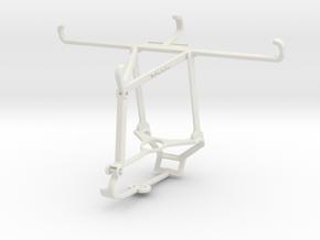 Controller mount for Steam & Xiaomi Poco C3 - Top in White Natural Versatile Plastic