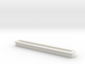 Train Inspection Pit 1/144 in White Natural Versatile Plastic