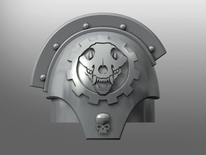 Valoris ptrn. S. Pads: Wolven Gears (right) in Smooth Fine Detail Plastic: Small