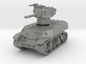 M3A3 Stuart 1/76 in Gray PA12