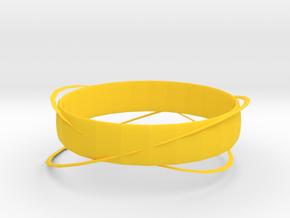藤蔓戒指(THE VINE) in Yellow Processed Versatile Plastic