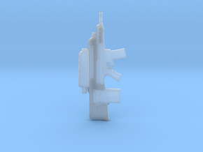 XM29 OICW 1:6 in Smooth Fine Detail Plastic