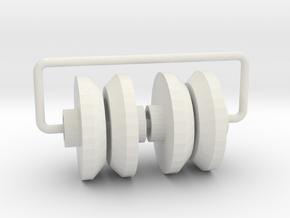 them screw saver linked 4 in White Natural Versatile Plastic