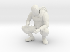 Printle B Homme 161 - 1/18 - wob in White Natural Versatile Plastic