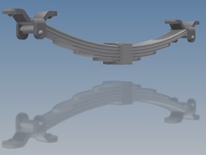 RCH 1923 5-Leaf Springs - 24 assorted in Smooth Fine Detail Plastic