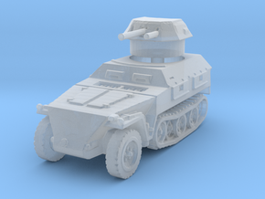 Sdkfz 250/9 B 2cm (closed) 1/285 in Smooth Fine Detail Plastic