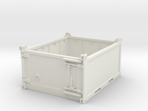 10 ft half high offshore container in White Natural Versatile Plastic