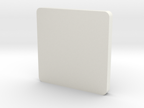 Earphone storage box in White Natural Versatile Plastic