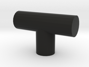 Watch Stand in Black Natural Versatile Plastic: Small