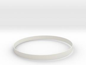 Neon Bracelets  in White Natural Versatile Plastic