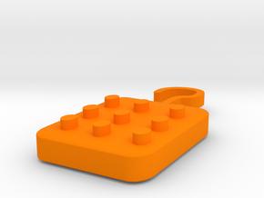 Magnificent Bojo-Wluff (5) in Orange Processed Versatile Plastic