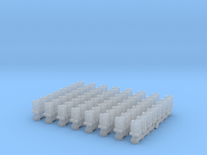 Jerrycan set (x64) 1/160 in Smooth Fine Detail Plastic